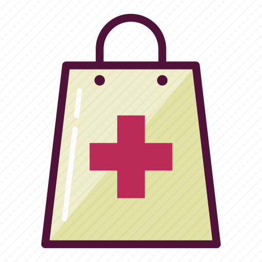 bag, healthcare, medication, medicine, pharmacy, purchase, shopping icon
