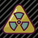 biohazard, hazard, radiation, toxic, warning, attention, danger
