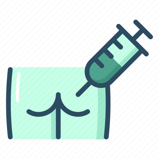 ass, healthcare, injection, medicine, patient, syringe, treatment icon