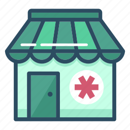 ambulance, dragstore, first aid, healthcare, hospital, medicine, pharmacy icon