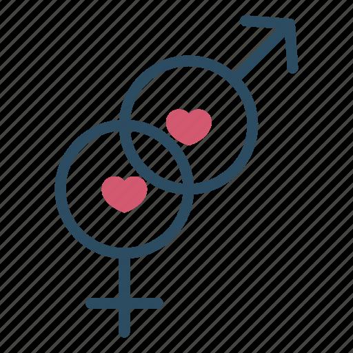 couple, gender, hetero, heterosexuality, sex, sexual, valentine icon