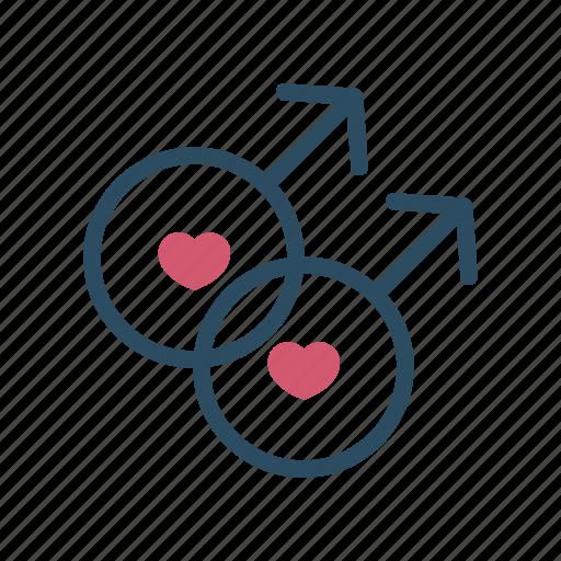 Gay, gender, homosexual, orientation, sex, sexual, sign icon - Download on Iconfinder
