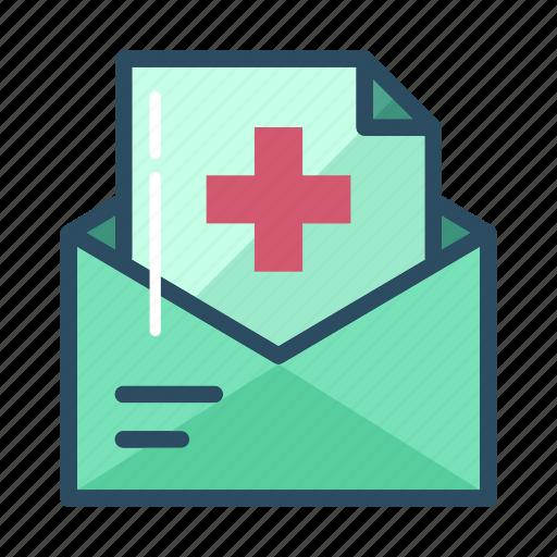 Bill, email, envelope, hospital, letter, mail, message icon - Download on Iconfinder