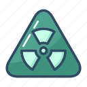 biohazard, caution, danger, hazard, radiation, toxic, warning icon