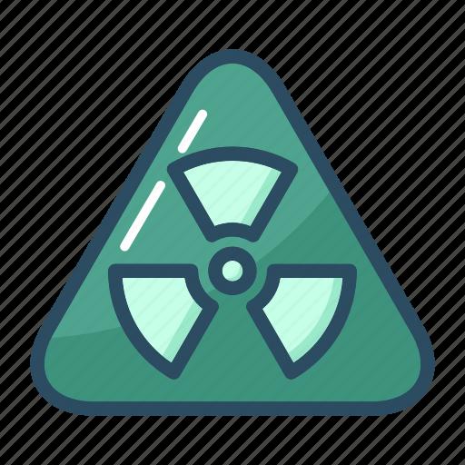 biohazard, caution, danger, hazard, radiation, toxic, warning icon