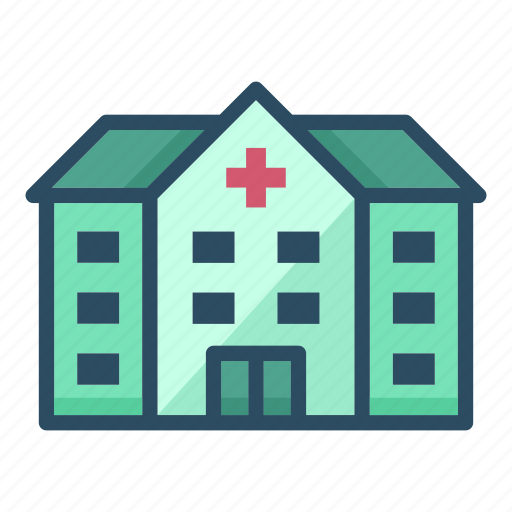 building, clinic, construction, healthcare, hospital, medicine, pharmacy icon