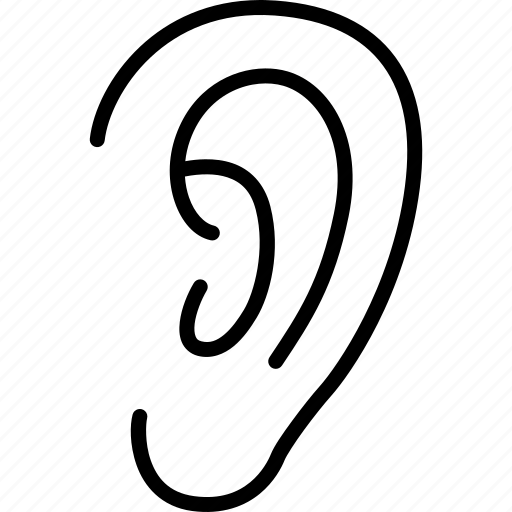 audio, ear, hear, hearing, listen, sound, volume icon