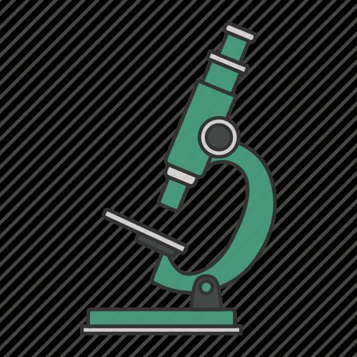 biology, glass, medicine, microscope icon icon icon