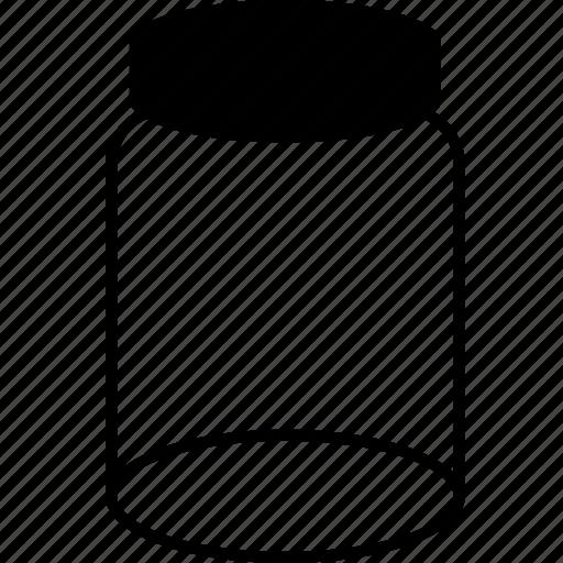 bin, bottle, empty, flacon, flask, phial, recycle, trash icon