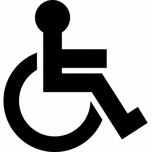 disable, gap, handicap, wheelchair icon
