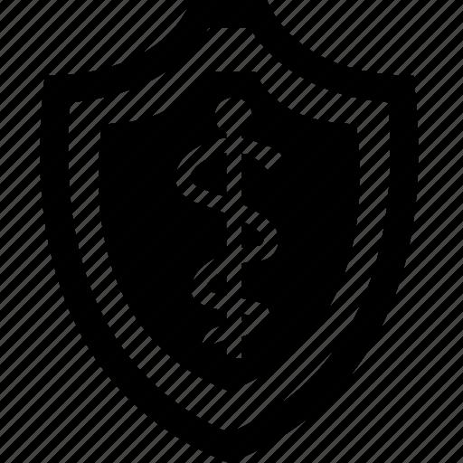 care, health, healthcare, shield icon