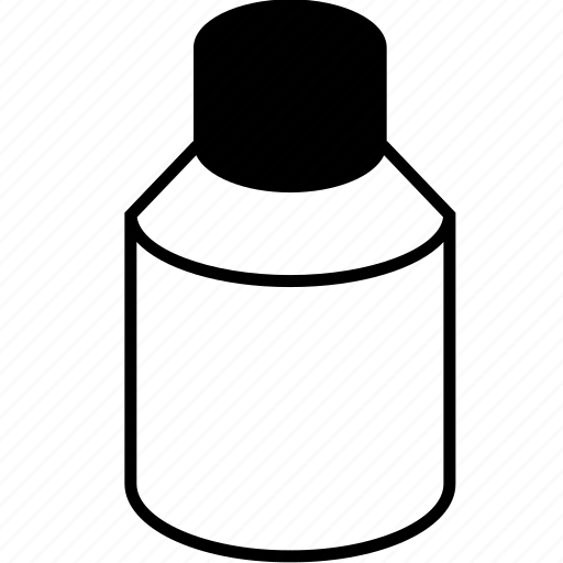 bottle, flacon, flask, solution, vial, vials icon