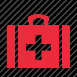 bag, briefcase, health, medical, medicine icon