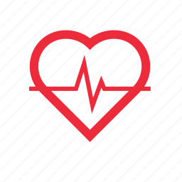 checkup, health, heart, heartbeat, pulse icon