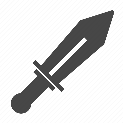 medieval, sword, weapon icon