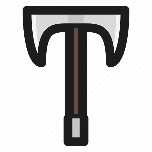 axe, battle, double, game, headed, war icon