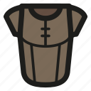 armor, game, leather, rpg icon