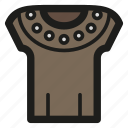 armour, game, leather, rpg icon