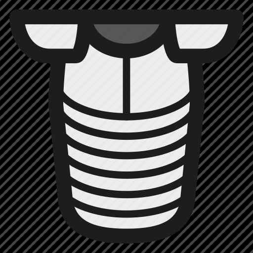 armor, armour, game, metal, plate armor, steel icon