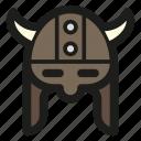 game, helmet, horned, leather, viking