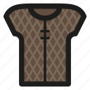 armor, game, leather, quilted icon