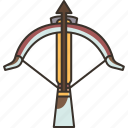 crossbow, arrow, archery, weapon, shoot