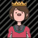 prince, boy, royal, crown, charming