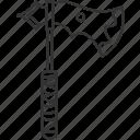 axe, weapon, sharp, battle, war