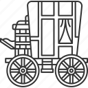 carriage, wagon, chariot, vehicle, transportation