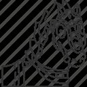 horse, stallion, animal, ride, knight