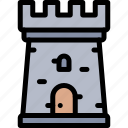 empire, history, kingdom, medieval, tower icon