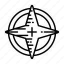 badge, emblem, magic, star icon