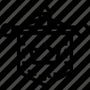 flag, medieval, middle, military, regiment