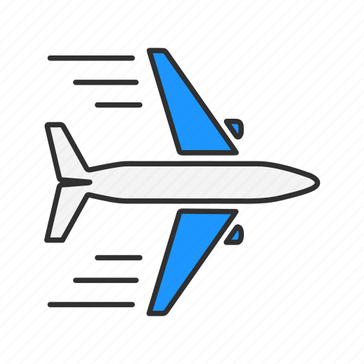 airplane, jet, plane, transportation icon