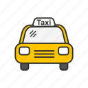 cab, professional drive, taxi, transportation icon