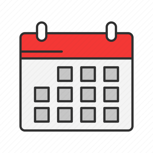 calendar, date, events, planner icon