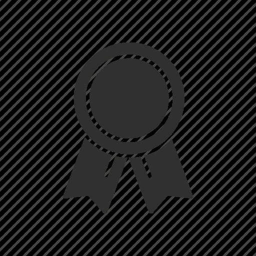 achievement, award, note, ribbon icon