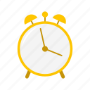 alarm clock, clock, timer, watch icon
