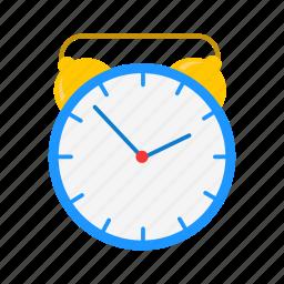 alarm clock, analog clock, timer, watch icon