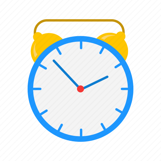 alarm clock, analog clock, timer, watch icon