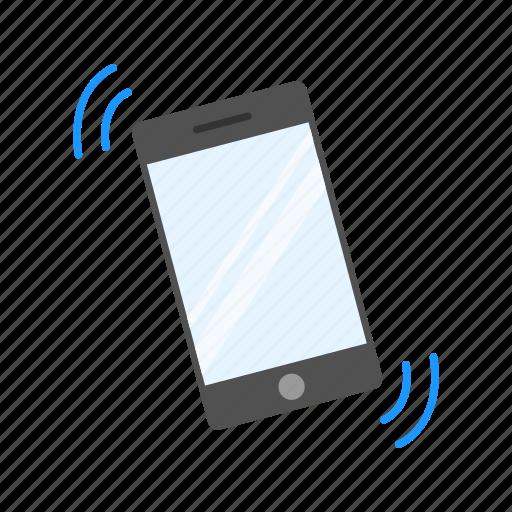 alarm, mobile, phone ringing, smart phone icon