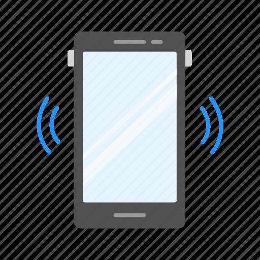 alarm, phone, phone alarm, phone ringing icon