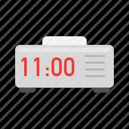 clock, date, digital clock, watch icon