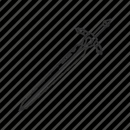 blade, knight, melee, sword, sword of artorias, weapon icon