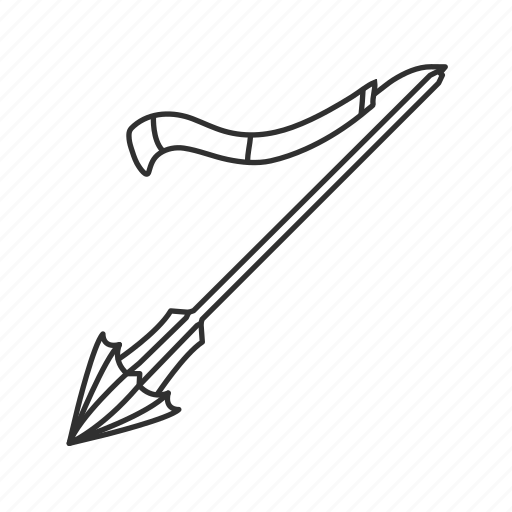 lance, melee, pointy stick, spear, thrusting weapon, weapon icon