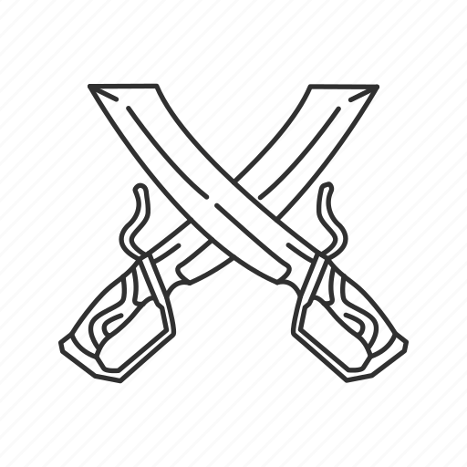 blade, butterfly sword, dual, eastern blade, melee, sword icon