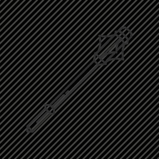 blunt, cudgel, mace, melee, stick, weapon icon