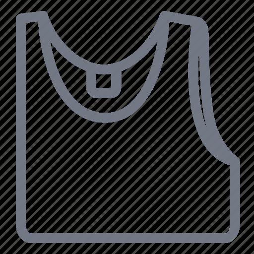 cloth, fashion, singlet, undershirt, underwear, vest, waistcoat icon