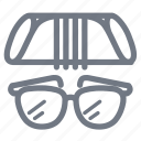 cloth, eyeglass, eyeglasses, fashion, glass, sunglass, sunglasses icon