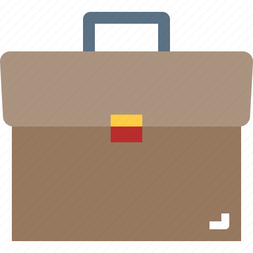 briefcase, business, men, suitcase, travel icon